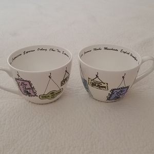 Portobello by Inspire Set of Coffee Mugs